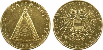Autriche (République d'), 100 schilling, 1936 Vienne