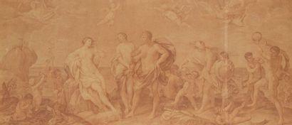 Ecole FRANCAISE du XVIIIème siècle, d'après Guido RENI