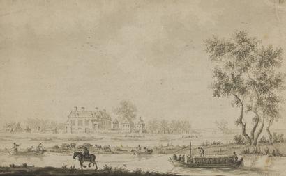 Ecole HOLLANDAISE du XVIIIème siècle