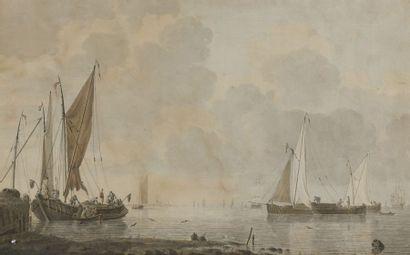 CORNELIS DE GRIENT (ROTTERDAM 1691 - 1793)