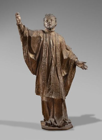 Saint Ignace de Loyola Sculpture en ronde...