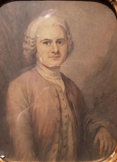 Eugène ISABEY   Portrait de jean jacques...