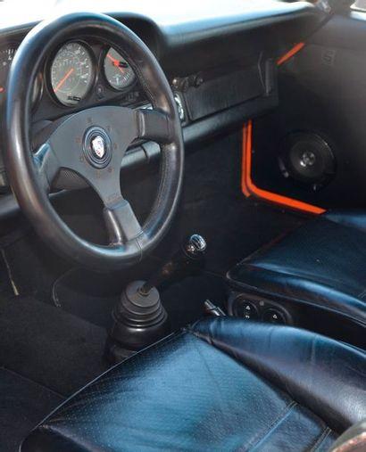 PORSCHE Porsche  911 3,0 litres SC préparée  1981  Carte grise belge  N° de châssis...