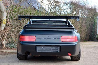 PORSCHE Porsche  968 Club Sport préparée  1994  Titre de circulation hollandais  N°...