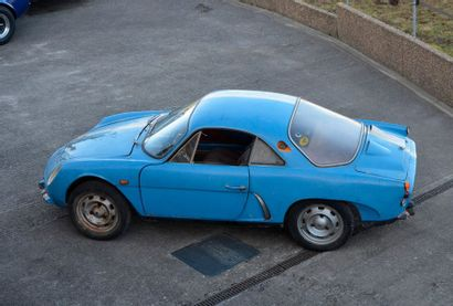 Renault Alpine Renault Alpine  A 108 Berlinette  1966  Titre de circulation espagnol...