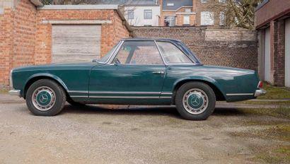 MERCEDES Mercedes  280 SL  1967  Titre de circulation belge  N° de châssis : 11304410000598...