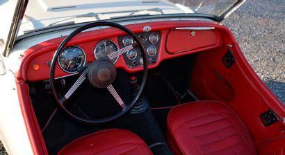 TRIUMPH Triumph TR3  1961  Titre de circulation belge  N° de châssis : 592452  Triumph...