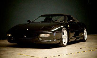 FERRARI Ferrari  F355 Spider  1996  Titre de circulation belge  N° de châssis : ZFFPR48B000102132...