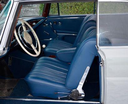 MERCEDES Mercedes  220 SE Coupé  1961  Titre de circulation belge  N° de châssis...