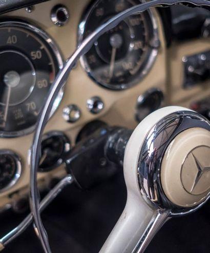 MERCEDES Mercedes  190 SL  1957  Titre de circulation USA-Californie ; dédouanée...