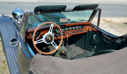 JAGUAR Jaguar XK120 SE Cabriolet One Off  1954  Titre de circulation belge  N° de...