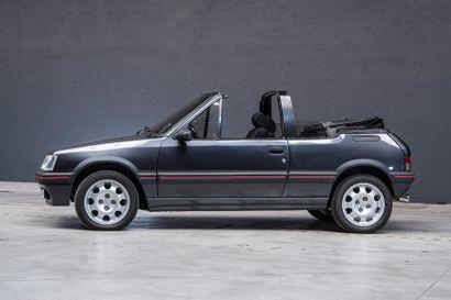PEUGEOT Peugeot 205 CTI  1992  Titre de circulation français  N° de châssis : VF32DDF224770907...