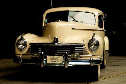 HUDSON Hudson  Super Six coupé  1946  Titre de circulation français  N° de châssis...