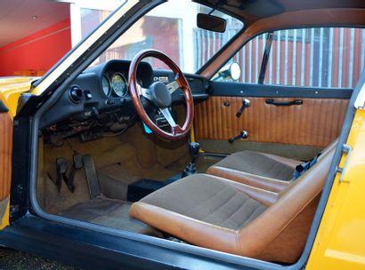 SAAB Saab  Sonett III  1970  Titre de circulation américain dédouané  N° de châssis...