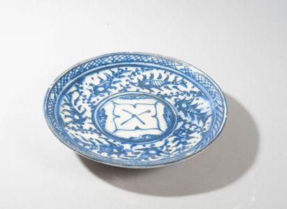 Assiette Qadjar. Diam. : 23 cm