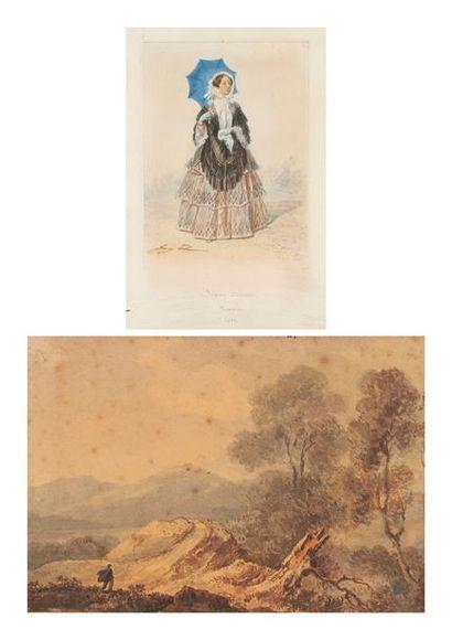 Auguste RAFFET  (Paris 1804 – Gênes 1860)...
