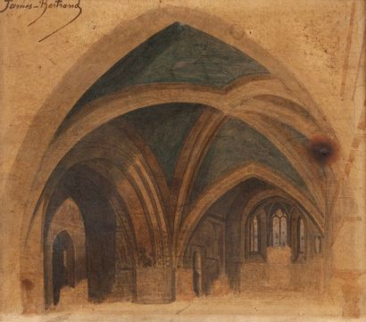 James BERTRAND  (Lyon 1823 – Orsay 1887)...