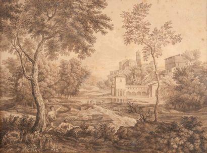 Ecole FRANCAISE du XVIIe siècle, entourage...