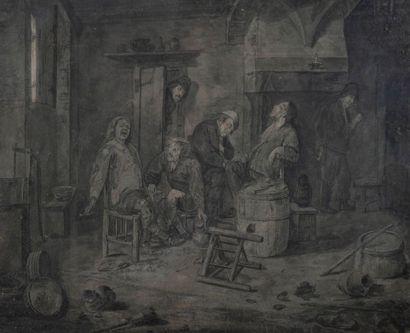 Ecole FRANCAISE du XVIIIe siècle, d'après...