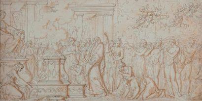 Louis-Félix de LA RUE (1730-1777)  Sacrifice...