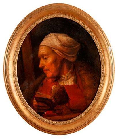 Ecole HOLLANDAISE de la fin du XVIIème siècle,...