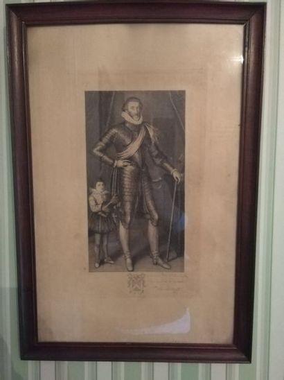 Gravure Henri IV