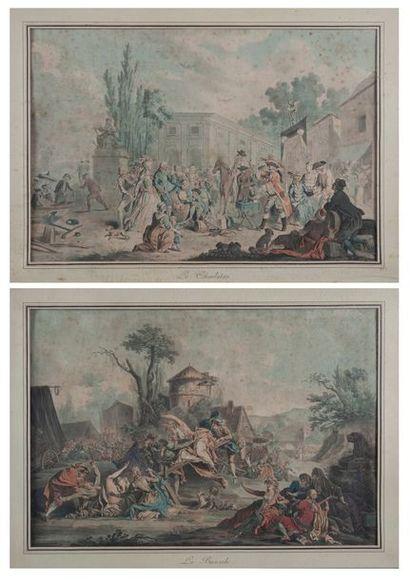 DEBUCOURT Philibert ( 1755-1832), le charlatan,...