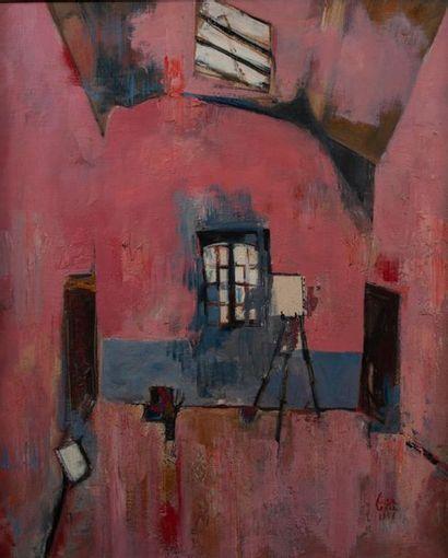 Philippe CARA COSTEA ( 1925-2006), L'atelier...