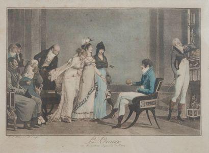 DEBUCOURT Philibert ( 1755-1832), L orange,tirage...