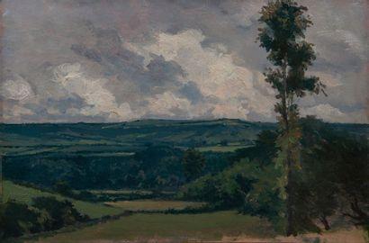 jean Gabriel Goulinat (1883-1972), panorama,panneau....