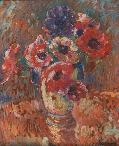 William MALHERBE ( 1884-1951), Bouquet de...