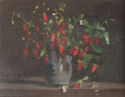 Pierre JOUFFROY ( 1912-2000), bouquet,panneau...