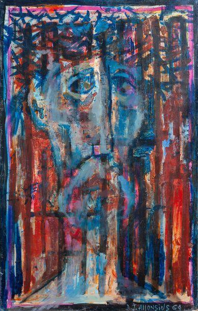 D.J. ALLONSIUS (1923-1995), Christ,isorel...