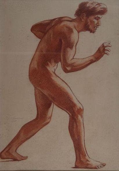 jean Gabriel Goulinat (1883-1972), Etude...