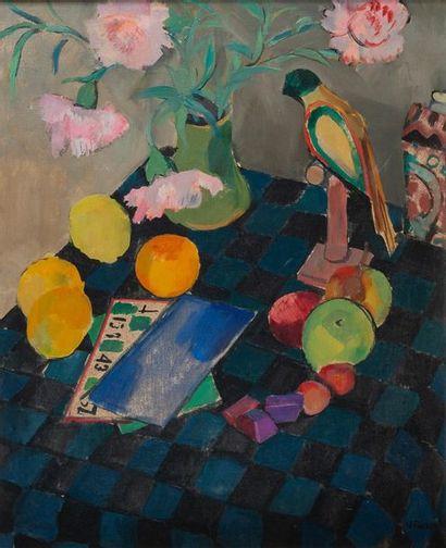 Willy EISENSCHITZ ( 1889-1974), loto,toile...