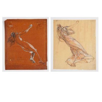 Octave GUILLONNET (1872-1967) Portraits présumés...