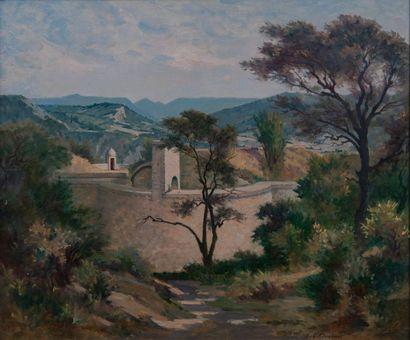 jean Gabriel Goulinat (1883-1972), aqueduc,panneau...