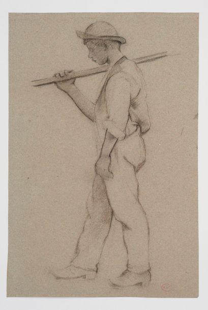 Henri Edmond CROSS (1856-1910) Portrait d'un...