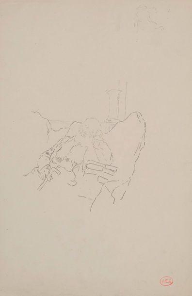 Henri Edmond CROSS (1856-1910) Portrait de...