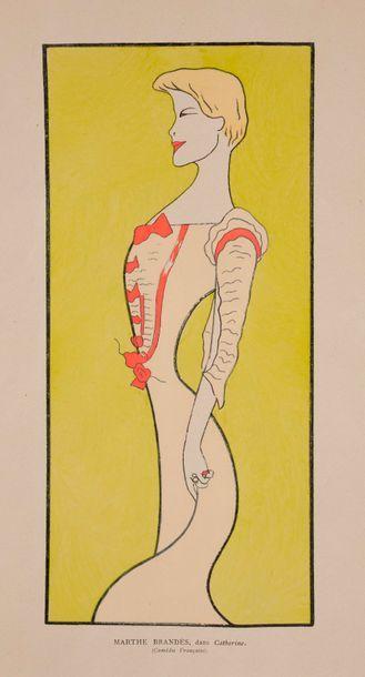 L. Cappiello, Nos artistes, 1899 ensemble...