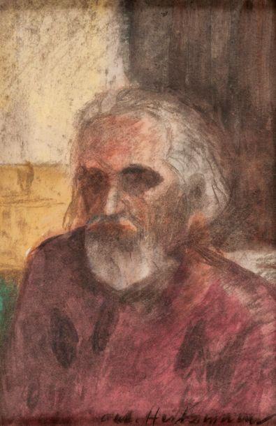 Antoine HEINTZMANN  Autoportrait  Technique...