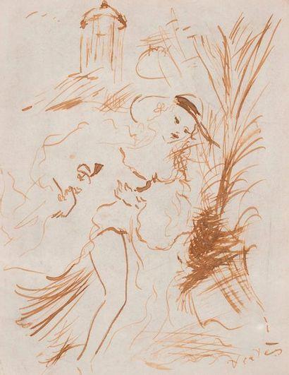 Marcel VERTES  Illustration pour le livre...