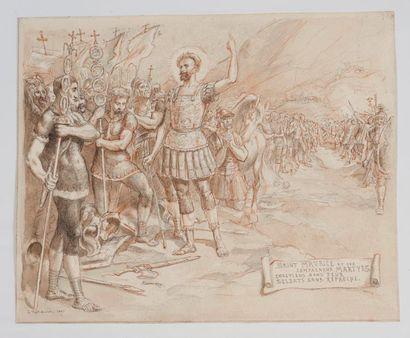 L. TIRET BOGNET. Saint Maurice et ses compagnons...
