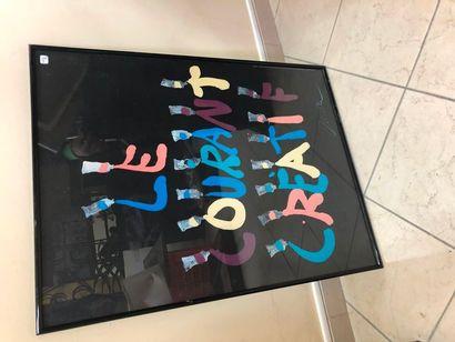 Ensemble de deux affiches: Miro et le courant...