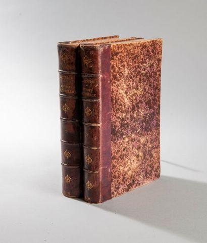 LACEPEDE  Histoire naturelle  2 volumes,...