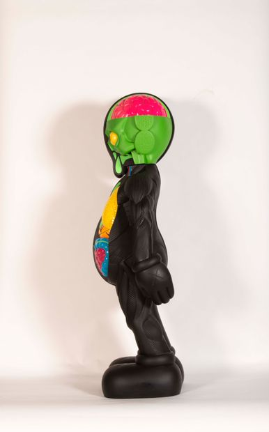 KAWS (Américain, né en 1974) KAWS (Américain, né en 1974)  Four foot dissected companion...