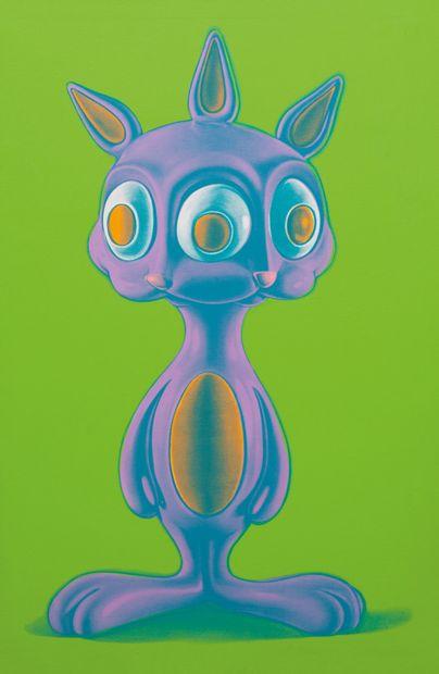 Ron ENGLISH (Américain, né en 1966) Ron ENGLISH (American, born 1966)  Rabbits, 2007...