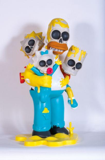 Matt GONDEK (Américain, né en 1982) Matt GONDEK (American, born 1982)  Simpsons Nuclear...