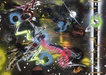 RAMMELLZEE (1960 - 2010)  Atomic note Atom...