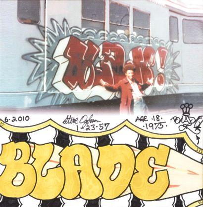 BLADE (Américain, né en 1957) BLADE (Américain, né en 1957)  Sans titre, 2010  Report...